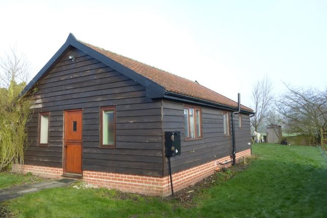 Thumbnail Detached bungalow for sale in Crown Bungalow, Lower Street, Gissing, Diss, Norfolk