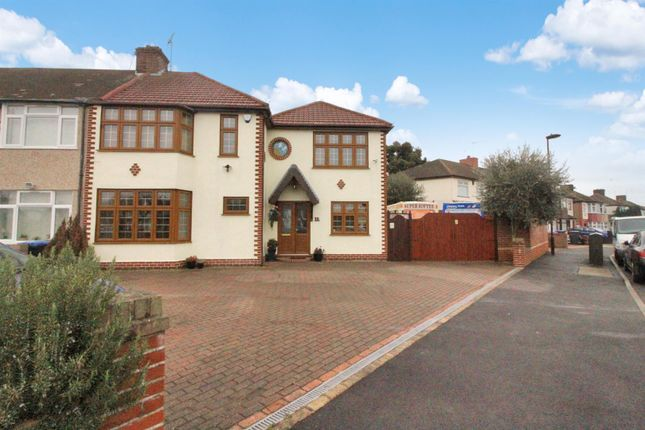 Thumbnail End terrace house for sale in Ian Square, Enfield