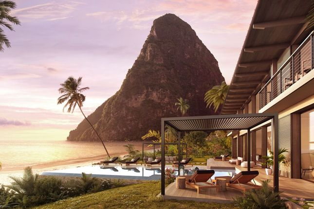 Thumbnail Villa for sale in Sugar Beach - The Beachfront Collection, Sugar Beach, Soufriere, St Lucia