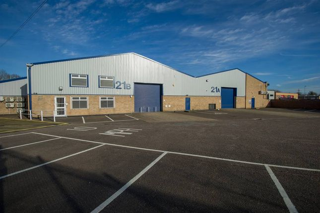 Thumbnail Industrial to let in Little End Road, Eaton Socon, St Neots