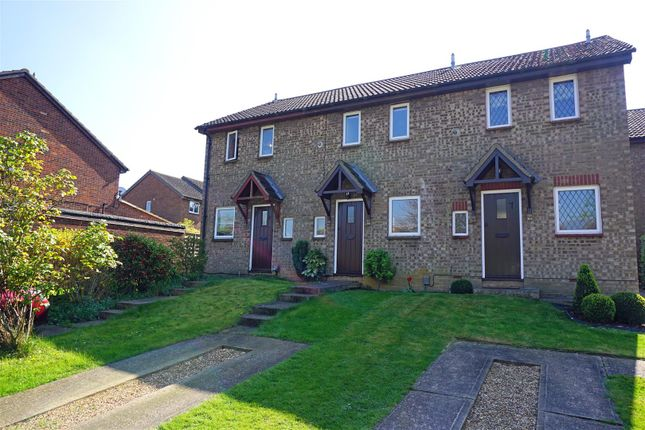Thumbnail Terraced house for sale in Burns Close, Hitchin