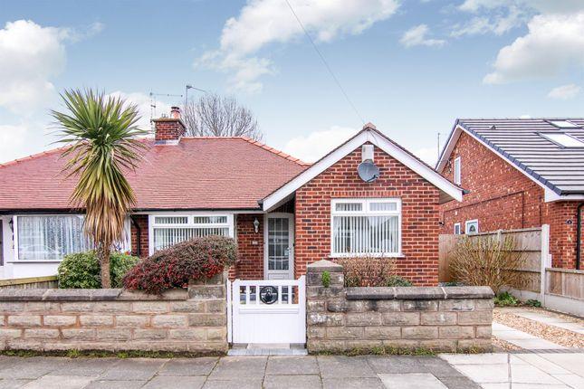 Thumbnail Semi-detached bungalow for sale in St Kildas Road, Moreton, Wirral