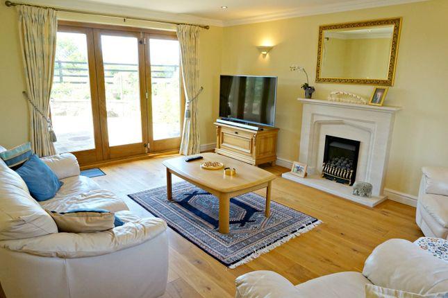 Living Room of Bickley Lane, Bickley, Malpas SY13