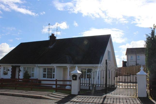 Thumbnail Semi-detached bungalow for sale in Churchview, Bessbrook, Newry