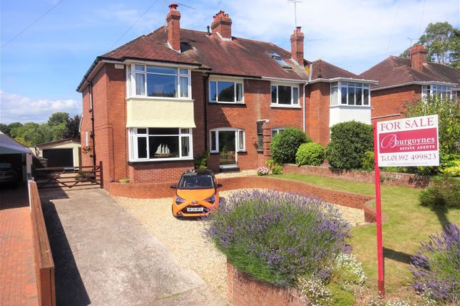 Thumbnail Semi-detached house for sale in 118, Honiton Road, Exeter