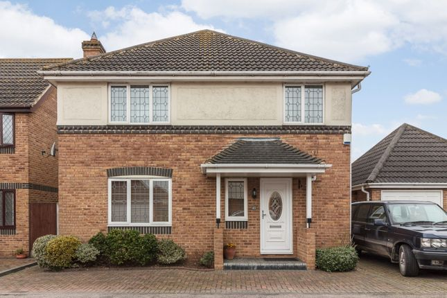 Thumbnail Detached house for sale in Rowan Grove, South Ockendon, Essex