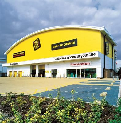 Photo of Big Yellow Self Storage Barking, Hertford Road, Barking, Essex IG11