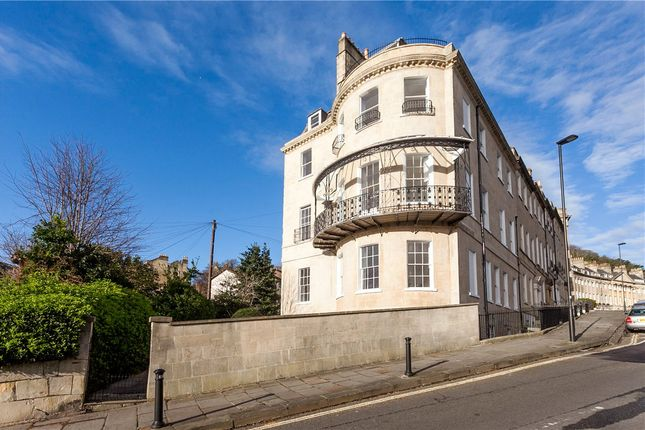 Thumbnail Flat to rent in Camden Crescent, Bath, Somerset