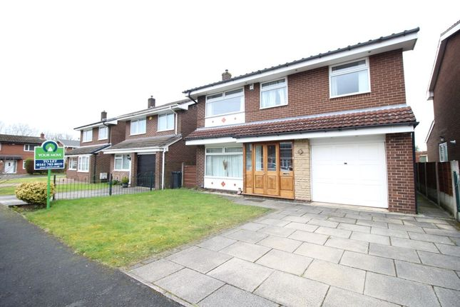 Thumbnail Detached house to rent in Roxby Close, Worsley, Manchester