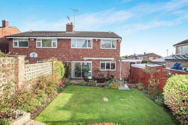 Thumbnail Semi-detached house for sale in Nunneley Way, Market Harborough