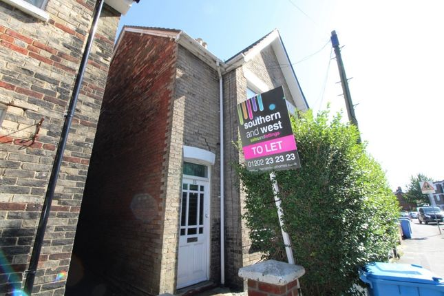 Thumbnail End terrace house to rent in Green Road, Poole