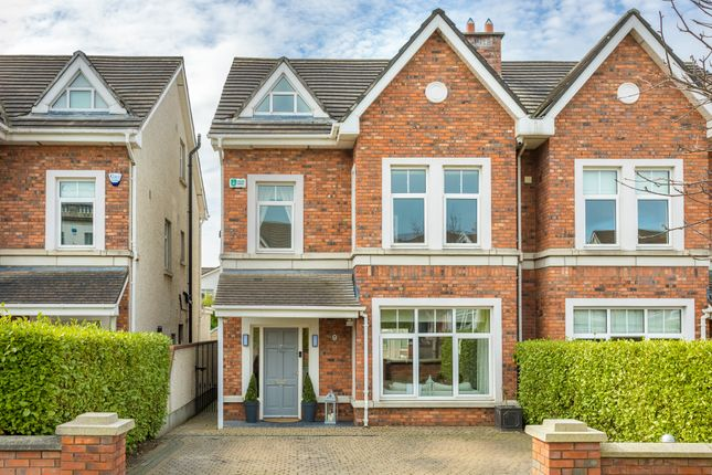 Thumbnail Semi-detached house for sale in 9 St. Gabriel's, Off Johnstown Road, Cabinteely, Dublin