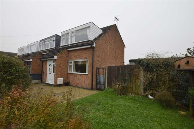 Thumbnail End terrace house for sale in Roach, East Tilbury, Essex