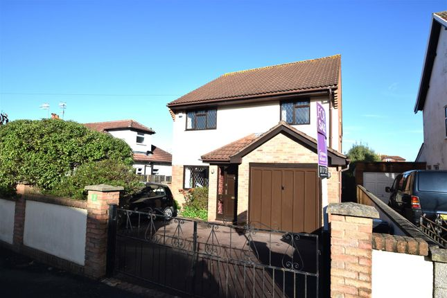 Thumbnail Detached house for sale in Wanscow Walk, Henleaze, Bristol