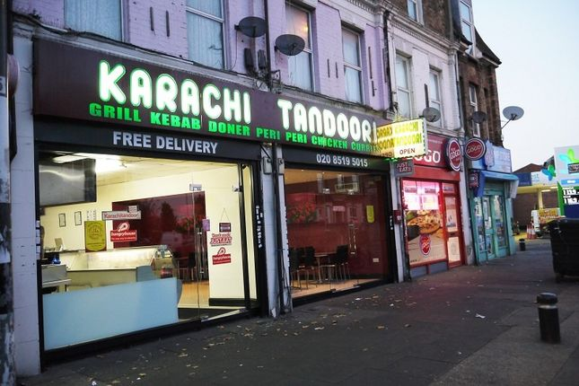 Thumbnail Restaurant/cafe for sale in Leytonstone Road, London, Greater London