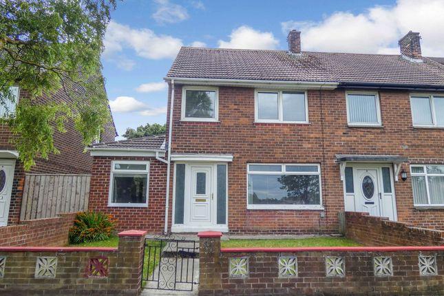 Thumbnail Semi-detached house for sale in Kings Meadow, Jarrow