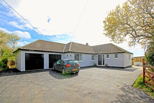 Thumbnail Detached bungalow for sale in Ruan High Lanes, Truro