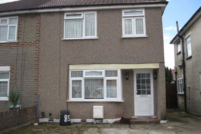 Thumbnail Semi-detached house to rent in Chaucer Avenue, Hayes