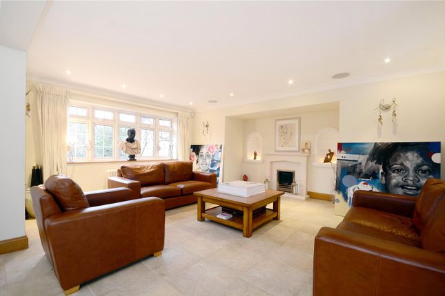 Thumbnail Detached house to rent in Coombe Park, Kingston Upon Thames