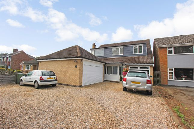 Thumbnail Detached house for sale in Glenfield Lane, Kirby Muxloe, Leicester