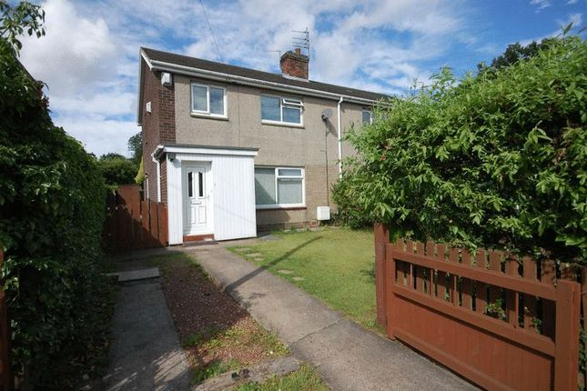 Thumbnail Semi-detached house to rent in Woodlands, Ulgham, Morpeth