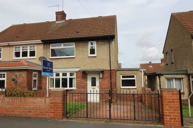 Thumbnail Semi-detached house for sale in Wycliffe Road, Seaham