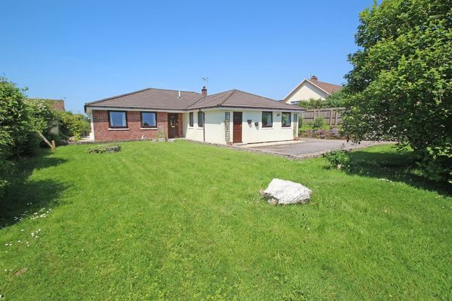Thumbnail Detached bungalow for sale in St. Columb