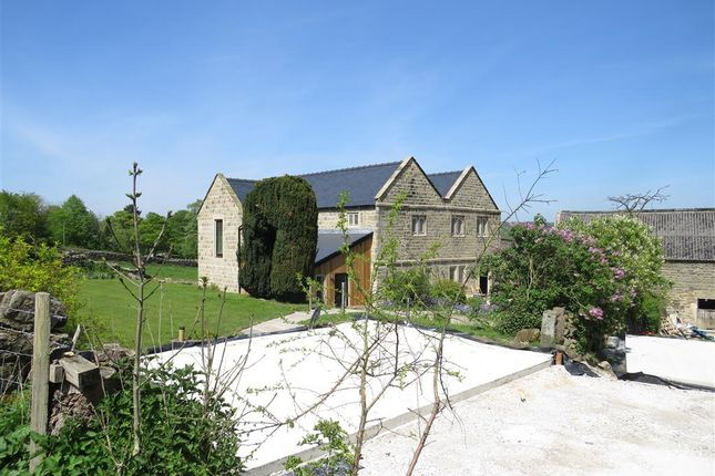 Thumbnail Farmhouse for sale in Coach Road, Ashover, Chesterfield