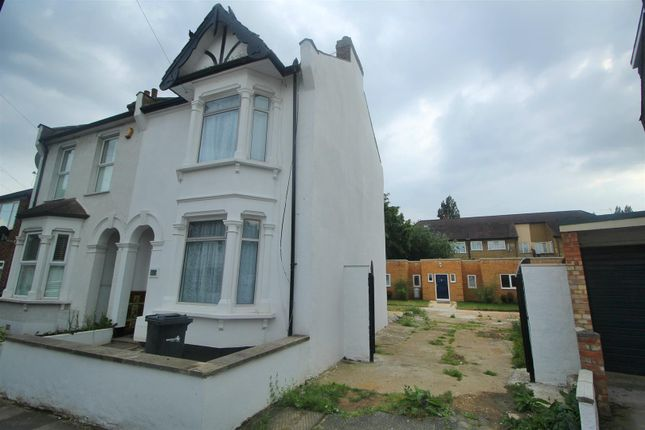 Thumbnail Semi-detached house for sale in Burleigh Road, Enfield