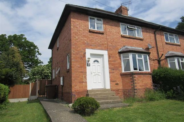 Thumbnail Semi-detached house to rent in Chestnut Avenue, Oswestry