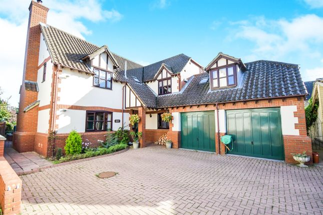 Thumbnail Detached house for sale in West End, Foxham, Chippenham