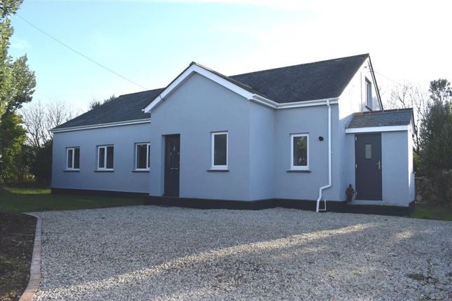 Thumbnail Detached bungalow for sale in Ruan Minor, Helston