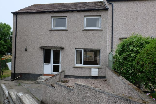Thumbnail End terrace house for sale in Hill Place, Thurso