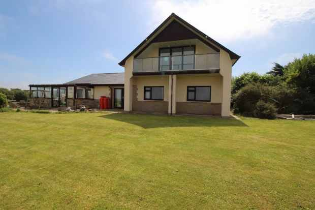 Thumbnail Detached house for sale in New Quay, Dyfed, Dyfed
