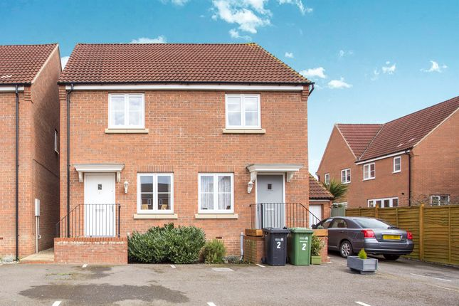 Thumbnail Semi-detached house for sale in Buttercup Close, Gaywood, King's Lynn