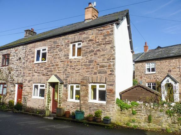 Thumbnail Cottage for sale in Chapel Street, Dulverton
