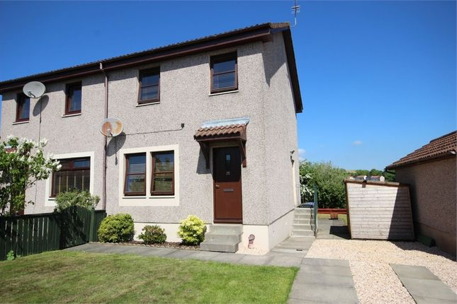 Thumbnail Semi-detached house for sale in 25 New Flockhouse, Lochore, Lochgelly, Fife