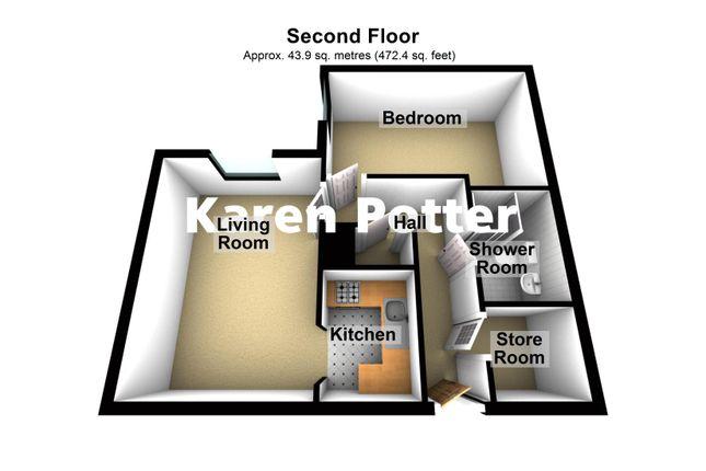 3d Floor Plan of Park Road, Hesketh Park, Southport PR9
