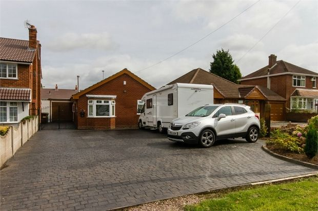 Thumbnail Detached bungalow for sale in Long Knowle Lane, Wednesfield, Wolverhampton, West Midlands