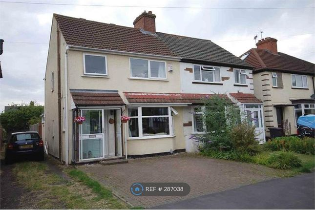 Thumbnail Semi-detached house to rent in Fareham Avenue, Rugby