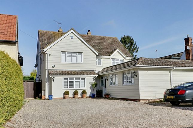 Thumbnail Detached house for sale in The Street, Sheering, Bishop's Stortford, Herts