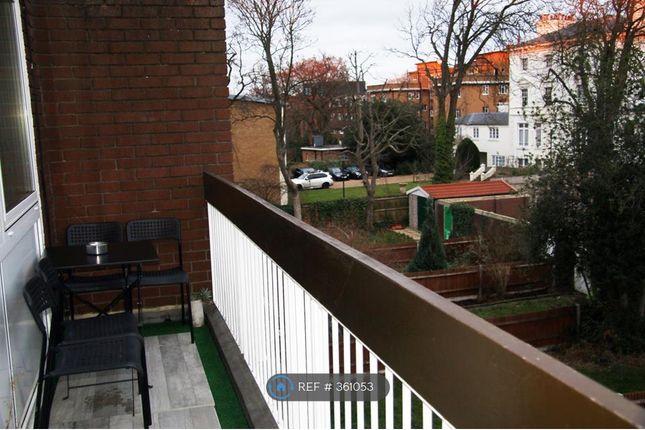 Rear Balcony & Smoking Area