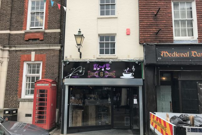Thumbnail Retail premises for sale in High Street, Rochester, Kent