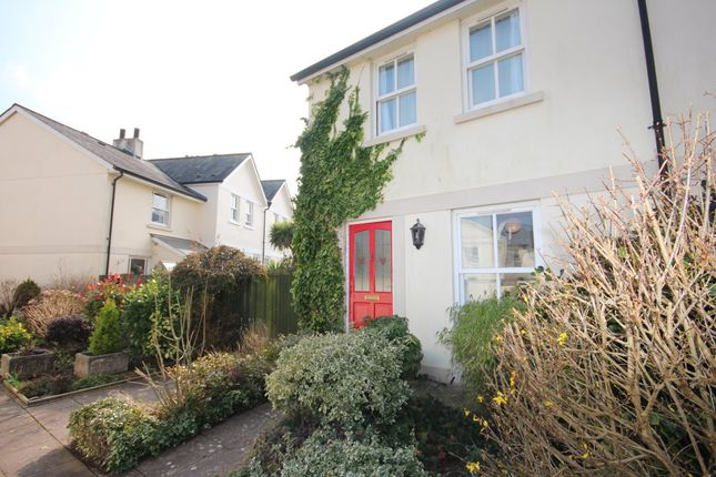 Thumbnail Terraced house to rent in Reeves Close, Totnes
