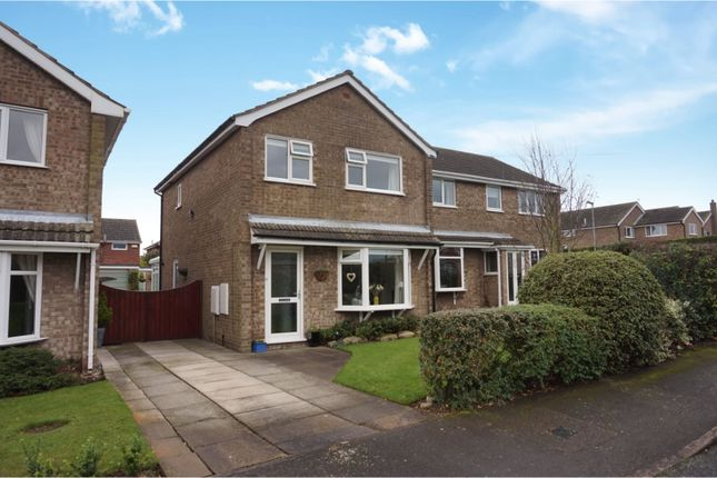 Thumbnail Detached house for sale in Beck Close, Keelby