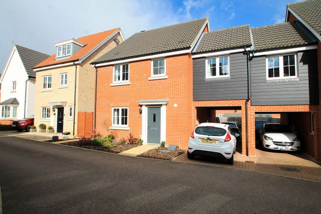 Thumbnail Link-detached house for sale in Hedge Sparrow Road, Stowmarket