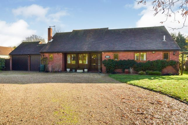 Thumbnail Detached bungalow for sale in The Green, Woughton On The Green, Milton Keynes