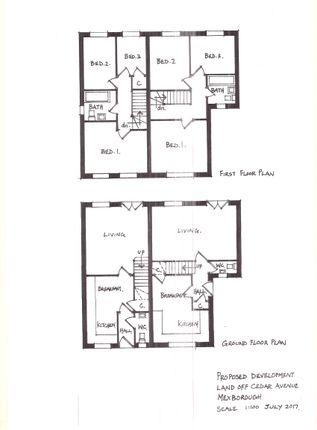 Floor Plan of Cedar Avenue, Mexborough S64