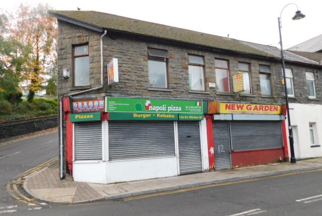 Thumbnail Restaurant/cafe for sale in De Winton Street, Tonypandy