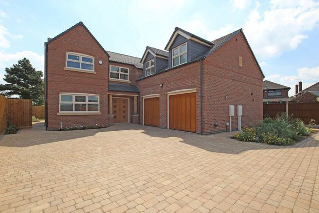 Thumbnail Detached house for sale in Grace Road, Sapcote, Leicester